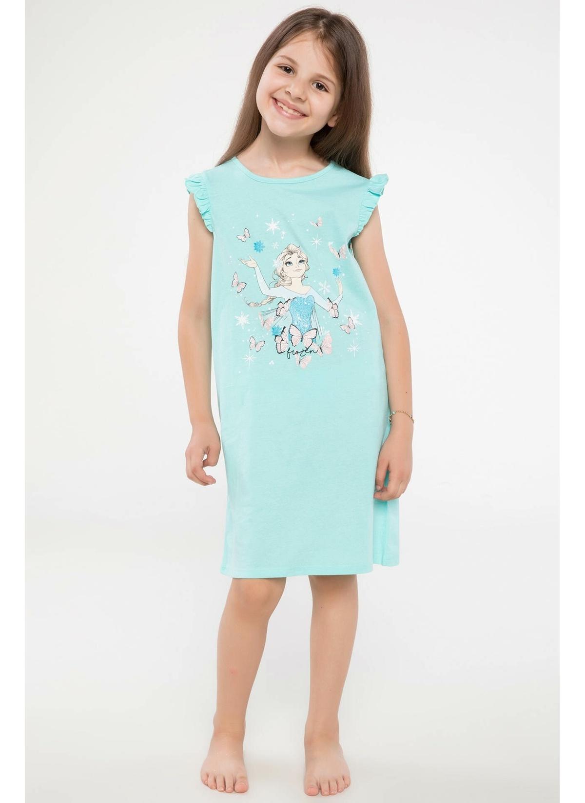 Defacto Lisanslı Frozen Pijama Üstü J5404a618hstr156 Lisanslı Frozen Pijama – 19.99 TL